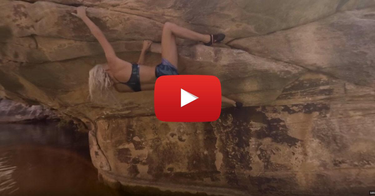 Sierra Blair-Coyle deep-water soloja, de inkább a felvétel módja érdekes, kattints ide és nézd meg »