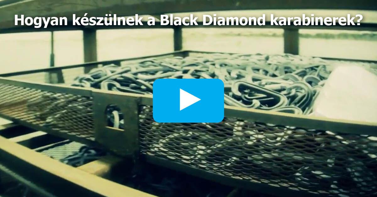 Hogyan készülnek a Black Diamond karabinerek?