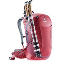 Deuter Futura SL 26 literes női hátizsák piros színben