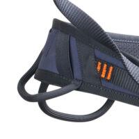 Edelrid Wing beülő - Első és hátsó felszereléstartó füle. Az elsők merevebbek, a hátsók rugalmasabbak, így hátiszákkal is kényelmesek - Mászás.hu