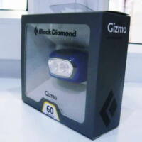 Black Diamond Gizmo Led-es fejlámpa - 2015 (60 lm, kék)