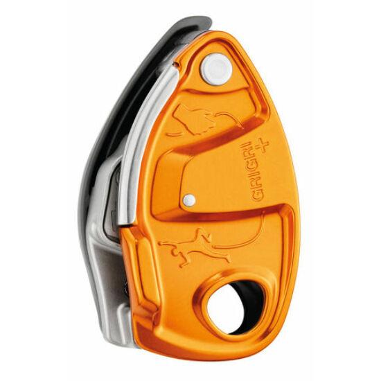 Petzl Grigri+ félautomata biztosítóeszköz narancssárga színben a Mászás.hu-tól