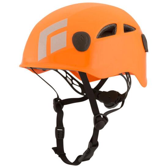 Black Diamond Half Dome mászósisak narancssárga színben és nagy M/L méretben | Mászás.hu