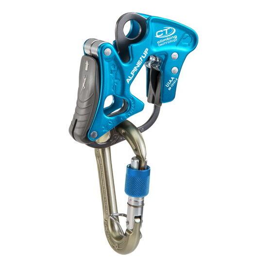 CT Alpine Up félautomata biztosítóeszköz kék színben + AJÁNDÉK karabiner