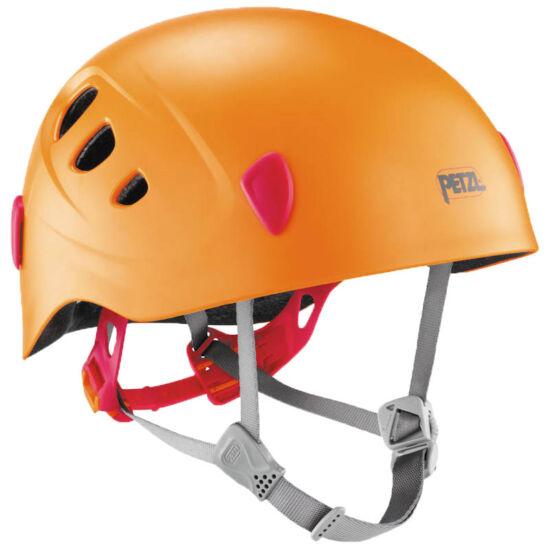 Petzl Picchu mászó és biciklis sisak gyerekeknek narancssárga színben a Mászás.hu-tól