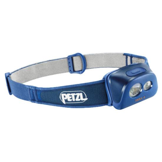 Petzl Tikka + fejlámpa kék színben (ledes)
