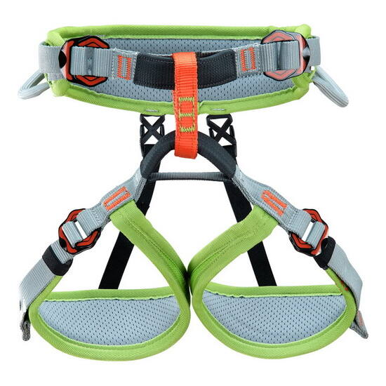 Climbing Technology Ascent  gyerekbeülő, zöld-szürke színben a Mászás.hu-tól