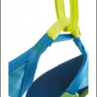 Edelrid Jay III mászóbeülő, zöld-kék, L-es