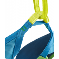 Edelrid Jay III mászóbeülő, zöld-kék, S-es