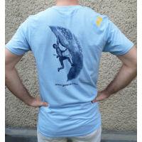 Gerecse tagsági férfi póló kék színben és S-es méretben (tagoknak 2500 Ft!)
