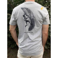 Gerecse tagsági férfi póló szürke színben és L-es méretben (tagoknak 2500 Ft!)
