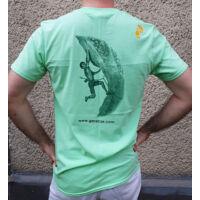 Gerecse tagsági férfi póló zöld színben és S-es méretben (tagoknak 2500 Ft!)
