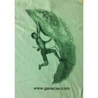 Gerecse tagsági férfi póló zöld színben és L-es méretben (tagoknak 2500 Ft!)