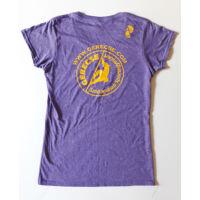 Gerecse tagsági női póló lila színben és L-es méretben (tagoknak 2500 Ft!)