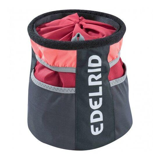 Edelrid Boulder Bag II ziazsák piros színben és L méretben