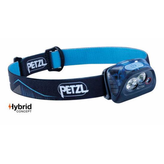 Petzl Actik 2019- fejlámpa kék színben (ledes)