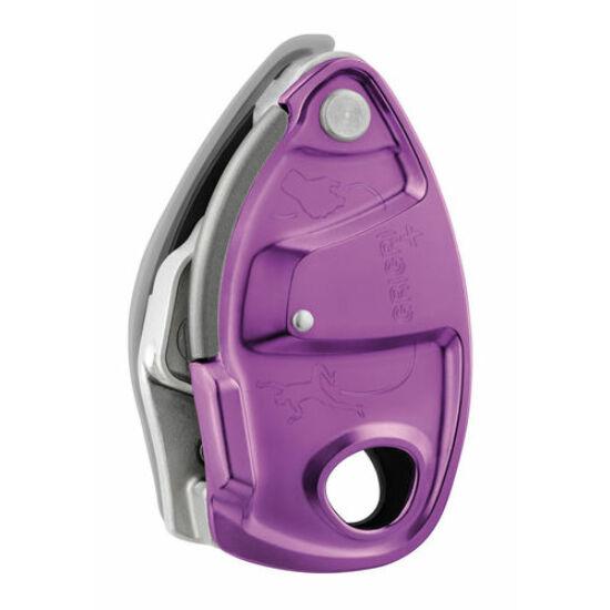 Petzl Grigri+ félautomata biztosítóeszköz lila színben a Mászás.hu-tól