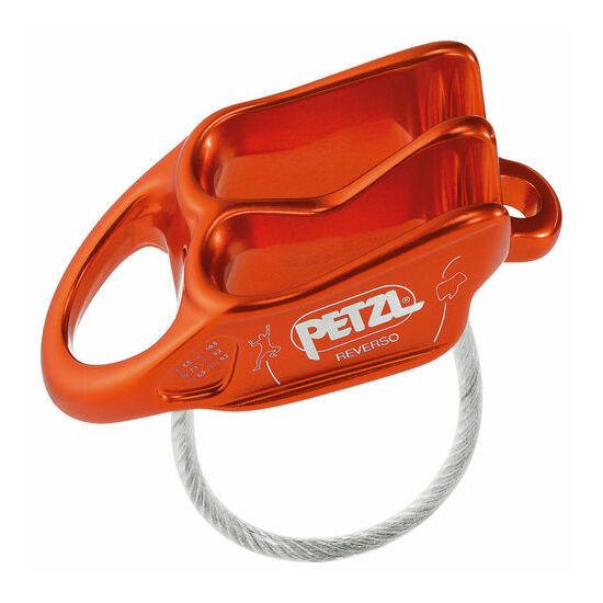 Petzl Reverso 5 lapka biztosítóeszköz piros