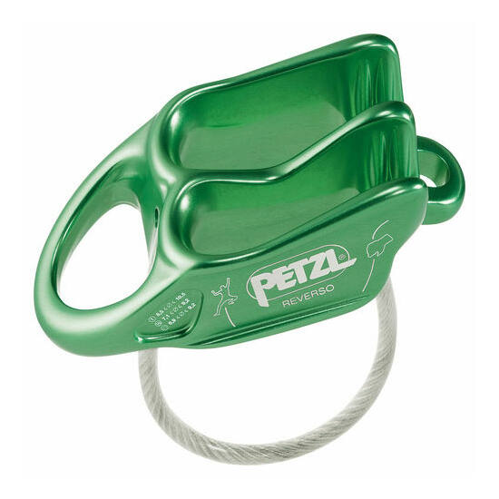 Petzl Reverso 5 lapka biztosítóeszköz zöld