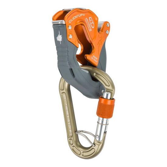 Climbing Technology Click Up Plus félautomata biztosítóeszköz narancssárga színben a Mászás.hu-tól