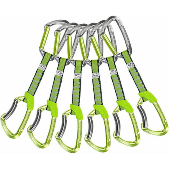 Climbing Technology Lime NY keylockos express 6 db-os csomag a Mászás.hu-tól