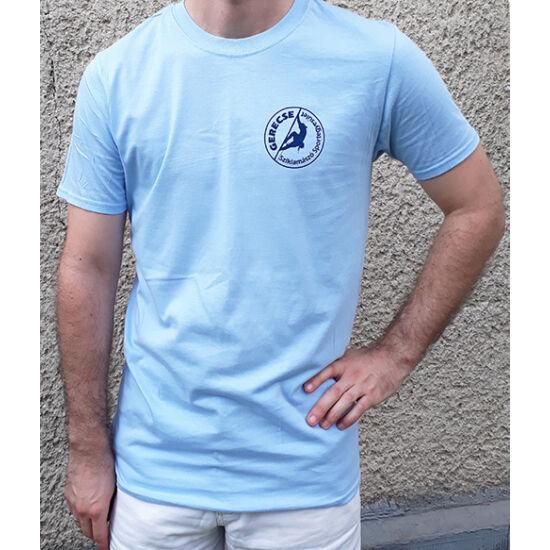 Gerecse tagsági férfi póló kék színben a Mászás.hu-tól