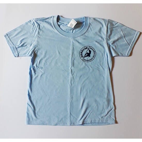 Gerecse tagsági gyermek póló kék színben a Mászás.hu-tól