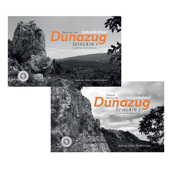 Dunazug szikláin sziklamászó kalauz  I.-II. kötet együttesen, Gerecse Tagoknak 4.500. Ft.