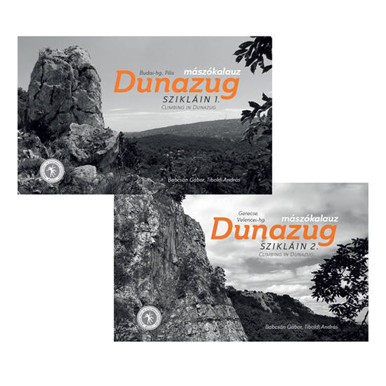 Dunazug szikláin sziklamászó kalauz  I.-II. kötet együttesen